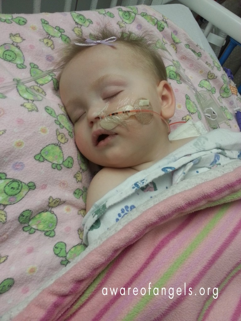 Lily-Undiagnosed, Hospitalized with Seizures (11 months)