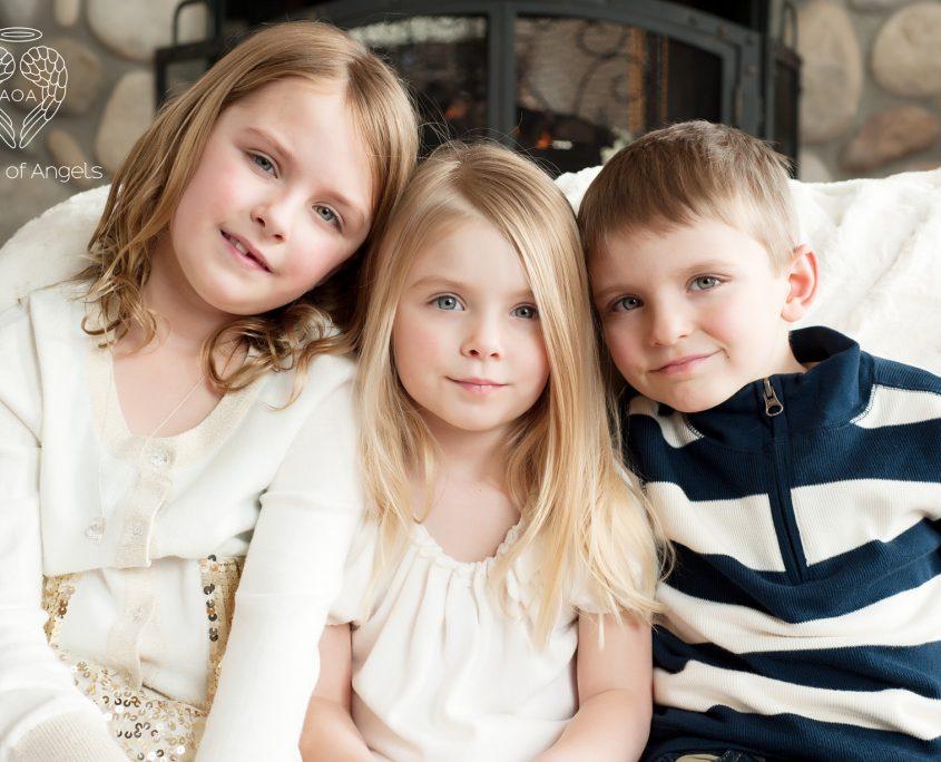 Ava, Lucy, Oskar