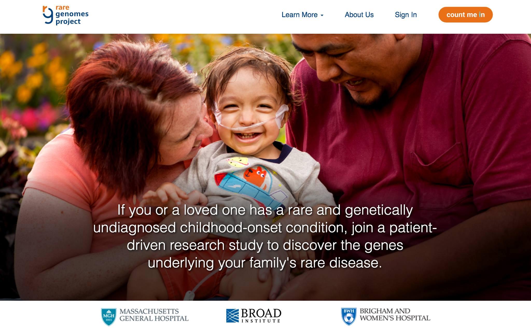 Rare Genomes Project